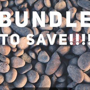 Bundle to save 15%!!!